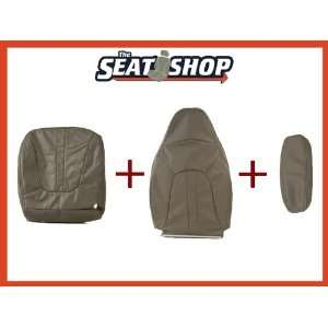 97 98 99 00 01 02 Ford Expedition Grey Leather Seat Cover