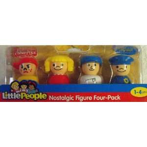 Fisher Price Little People Nostalgic Figure Four Pack (Boy, Girl