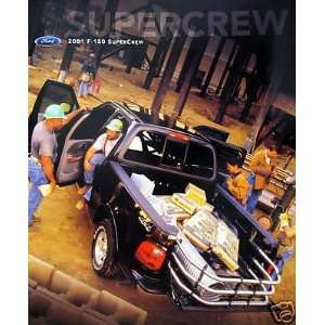 2001 Ford F 150 SuperCrew pickup truck sales brochure