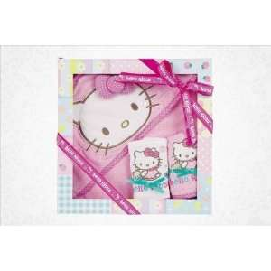 Hello Kitty Bib and Towel Gift Set Baby Bear