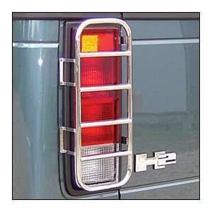 Stainless Tail Light Guards, for the 2005 Hummer H2 SUT Automotive