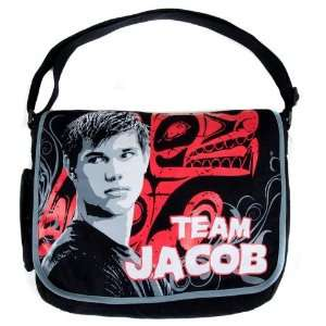 Twilight Eclipse Team Jacob With Wolf Messenger Bag Toys & Games