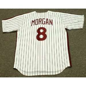 Phillies 1983 Majestic Cooperstown Throwback Home Baseball Jersey
