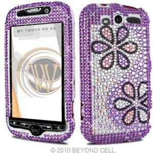 HTC MyTouch HD 4G 4 G Cell Phone Full Crystals Diamonds