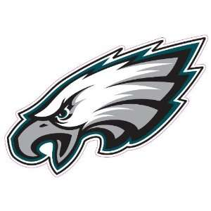 Philadelphia Eagles Team Auto Window Decal (12 x 10  inch)