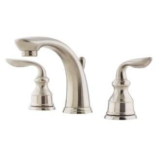 Price Pfister T49 CB0E Two Handle Lavatory Widespread Faucet, Rustic