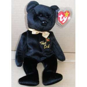 TY Beanie Babies The End Bear Stuffed Animal Plush Toy   8