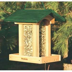 Woodlink Cedar Garden Green Roof Bird Feeder Patio, Lawn & Garden