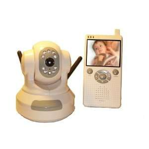 home/office/baby Wireless 2.5 LCD Safety Monitor, Pan&Tile