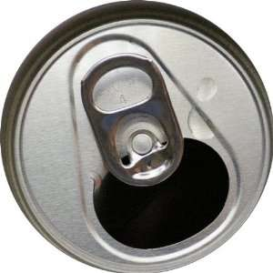 Soda Can Top Art   Fridge Magnet   Fibreglass reinforced