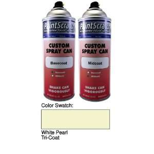 12.5 Oz. Spray Can of White Pearl Tri Coat Touch Up Paint