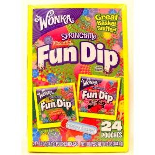Wonka Lik m aid Fun Dip, Halloween Candy, 25 Ounce Boxes (Pack of 3