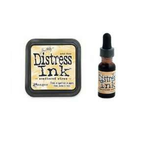 Tim Holtz Distress Rubber Stamp Ink Pad & Re inker