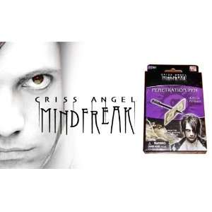 Criss Angel Mindfreak Penetration Pen Magic Trick  Toys & Games