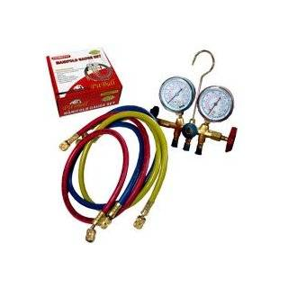 R12 A/c Air Conditioning Ac Refrigerant Manifold Gauge Set by Pit Bull