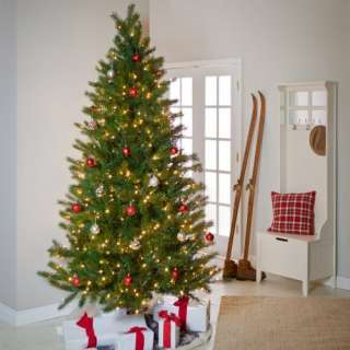 Shake to Shape Fir Medium Pre lit Christmas Tree Christmas Decor