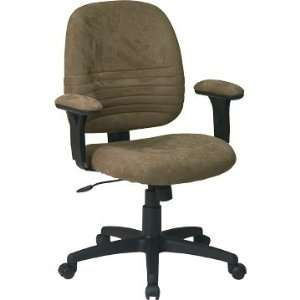 Tilt Chair with Padded Height Adjustable Arms In Sage Finish By Office