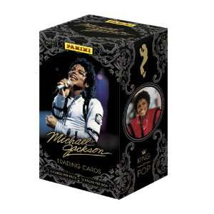 2011 Panini Michael Jackson Trading Card Box Sports